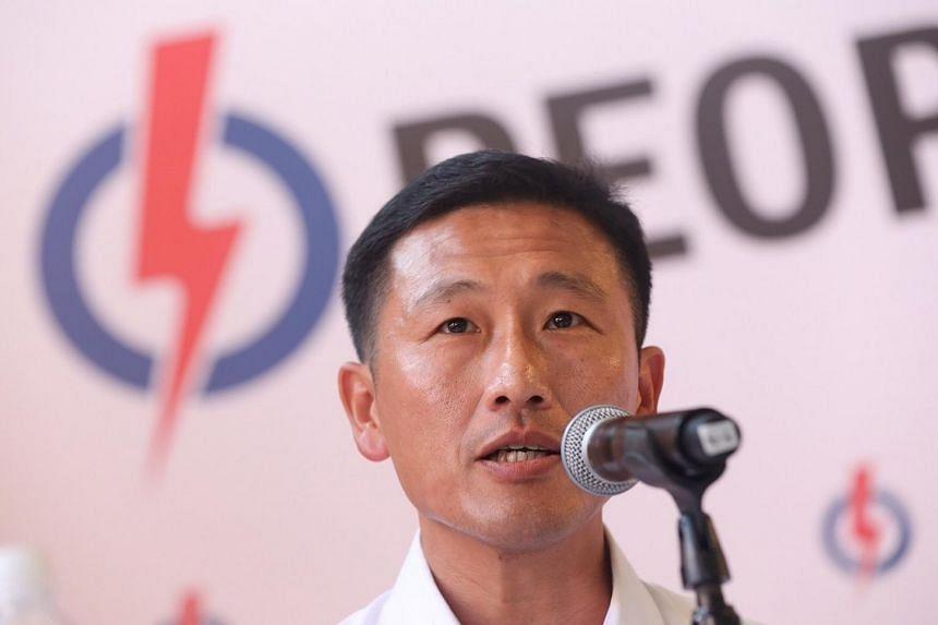 Mr Ong Ye Kung.