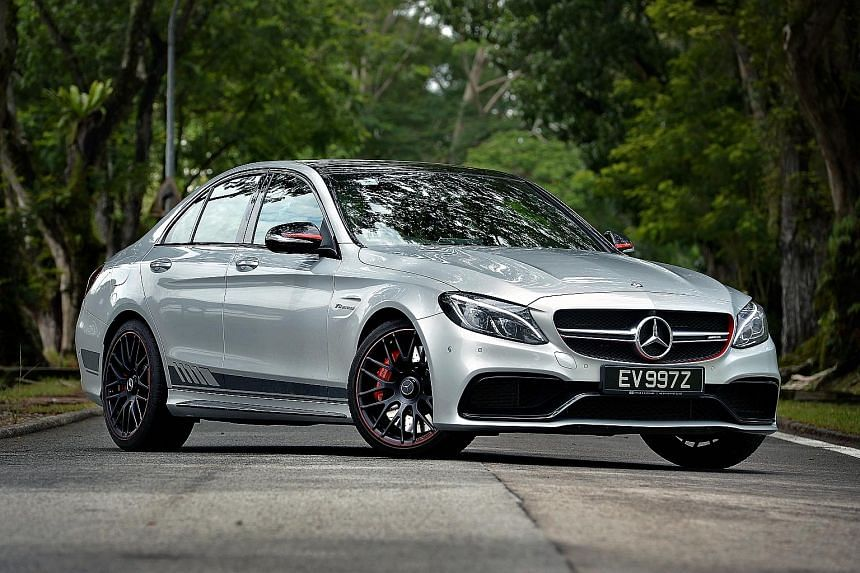 The Mercedes- AMG C63 S is the most powerful model in the C-Class line-up.