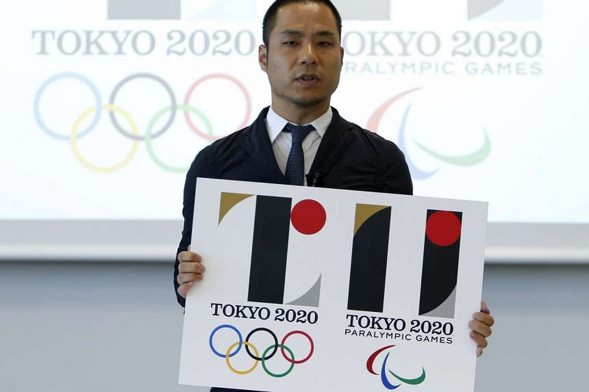 Kenjiro Sano, designer of the Tokyo 2020 Olympic and Paralympic Games logos during a news conference in Tokyo, Japan on Aug 5, 2015.
