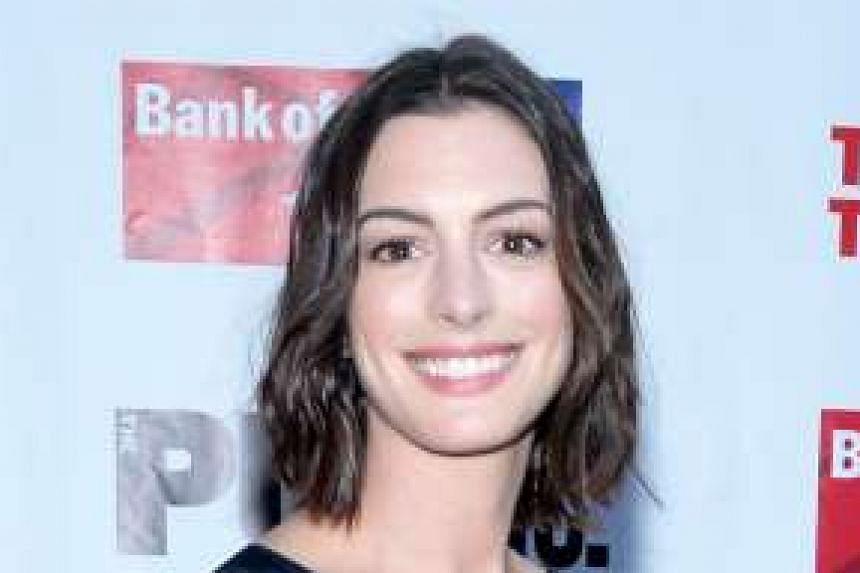 Actress Anne Hathaway.