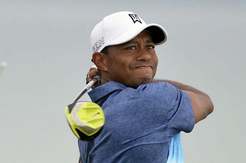 Woods exited after carding a one-over-par 73 in the second round at Whistling Straits.