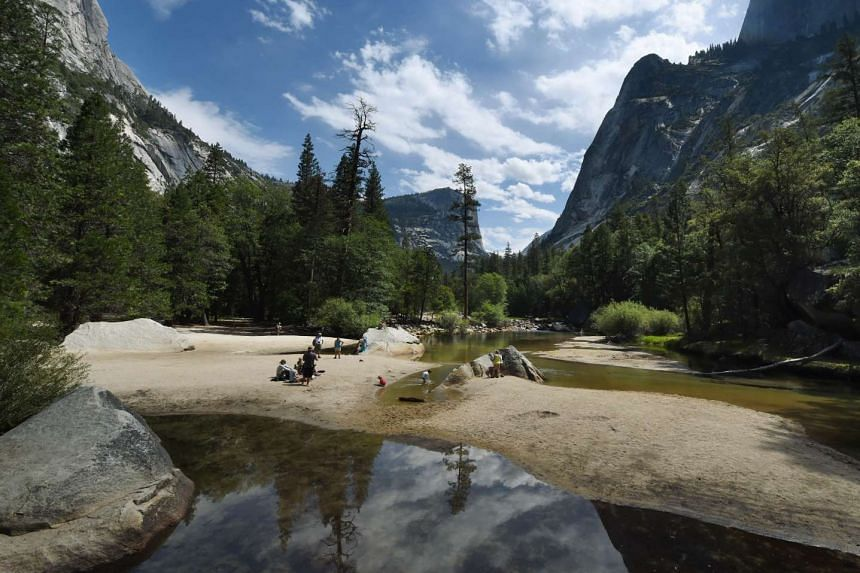 Yosemite National Park in California, where two young campers died.