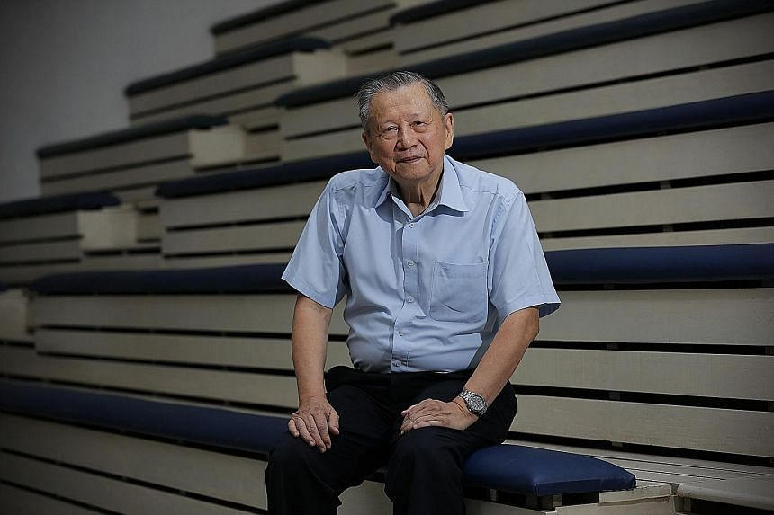 "Former badminton player Lee Kin Tat (above) was ""Singapore's star in the 1960s"", writes pioneer layer Tan Chong Tee in his book, Upholding The Legacy – Singapore Badminton. Dr Lee could execute a smash from any corner of the court."