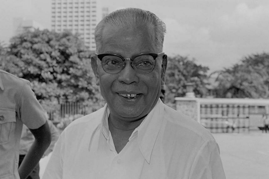 Mr Govindaswamy won the Anson seat in 1963 and remained the area's MP until he died of a heart attack in 1978.