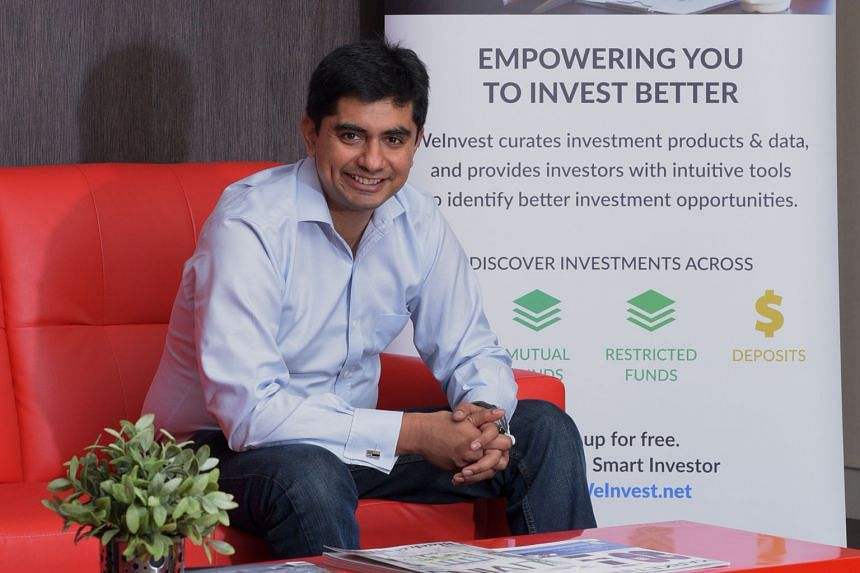 Although former corporate consultant Bhaskar Prabhakara is careful with his spending, he decided to take a risk and set up his financial product portal, WeInvest, with an initial US$240,000 (S$337,000). It went live earlier this year.