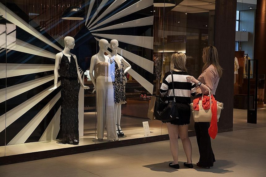 Shoppers at the Village Mall in Rio de Janeiro. A tour of a few malls found that among almost two dozen high-end items, 19 are cheaper in Brazil than in New York.