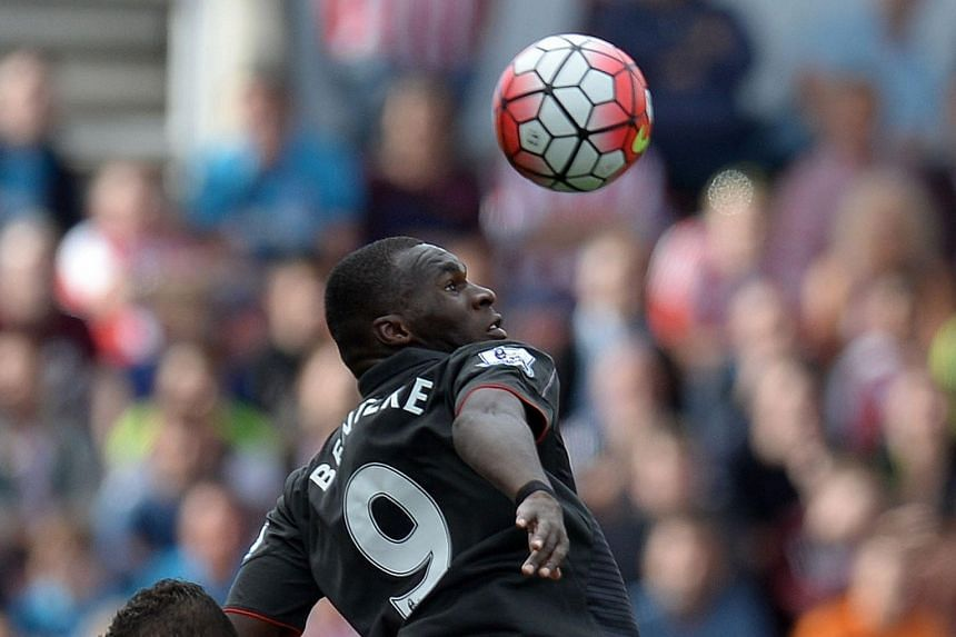 Reds boss Brendan Rodgers will hope that striker Christian Benteke (No. 9) can help the club do better at home this season.