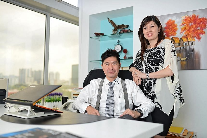 Mr Freddy Sim and his wife, Ms Viviena Chin, decided to set off on their own in 2005, but on the day they got a licence for their firm, former colleagues who wanted to join them changed their minds.