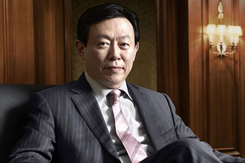 Shin Dong-bin, Lotte Group chairman and the younger son of Lotte founder Shin Kyuk-ho.