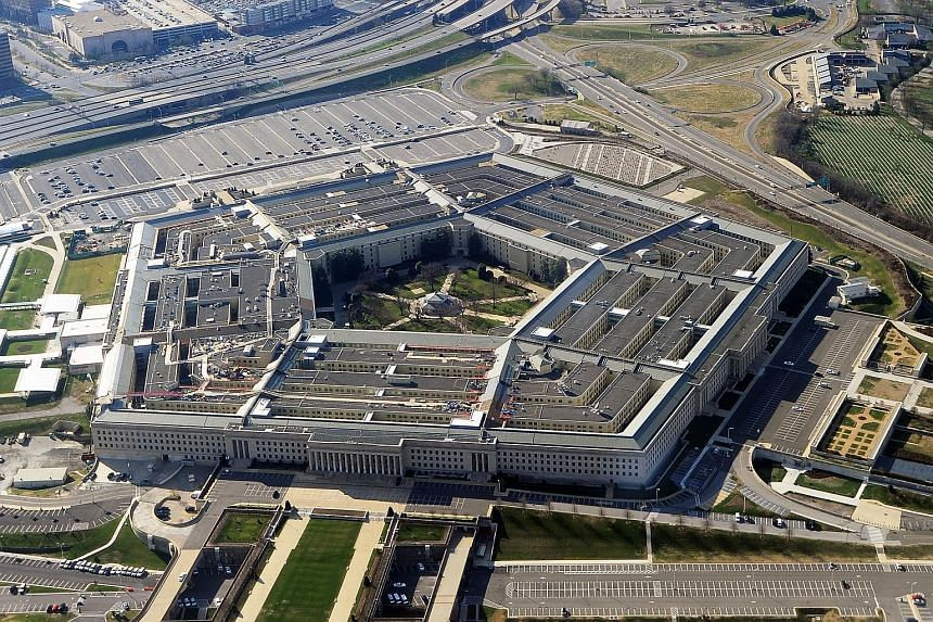 This file photograph taken on Dec 26, 2011, shows the Pentagon building in Washington, DC.