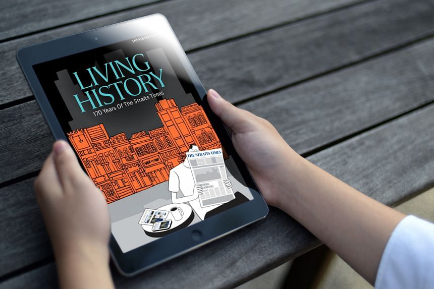 Living History: 170 Years Of The Straits Times takes readers through the country's past 170 years, highlighting major events.