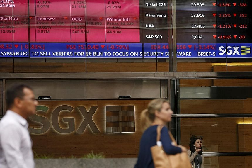SGX market strategist Geoff Howie said the STI's annualised total return over the last 10 years stood at 7.8 per cent, topping the Hang Seng's 7.6 per cent and the Dow Jones' 5.9 per cent.