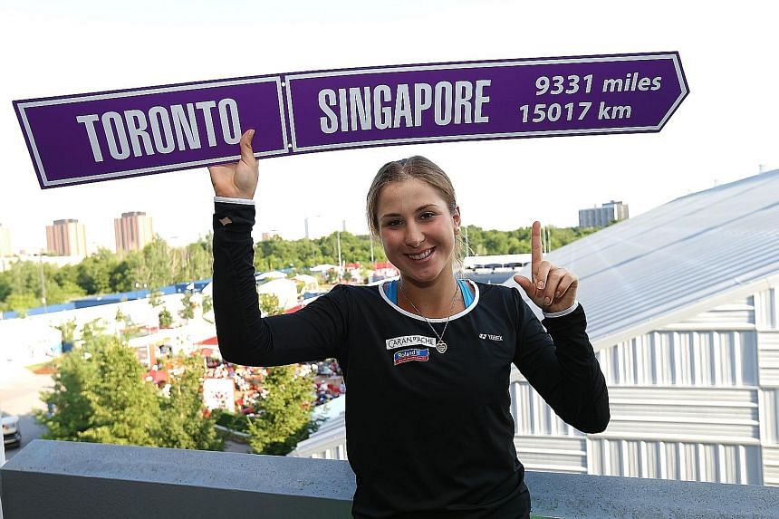 Belinda Bencic knows where she wants to go come October as she seeks to qualify for the WTA Finals at the Singapore Indoor Stadium. With two titles in two months, the Swiss teen appears on track.