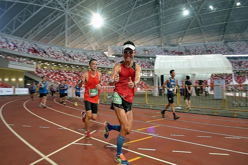 ST Run participants can register to bring along supporters to cheer them on towards the finishing point at the National Stadium.