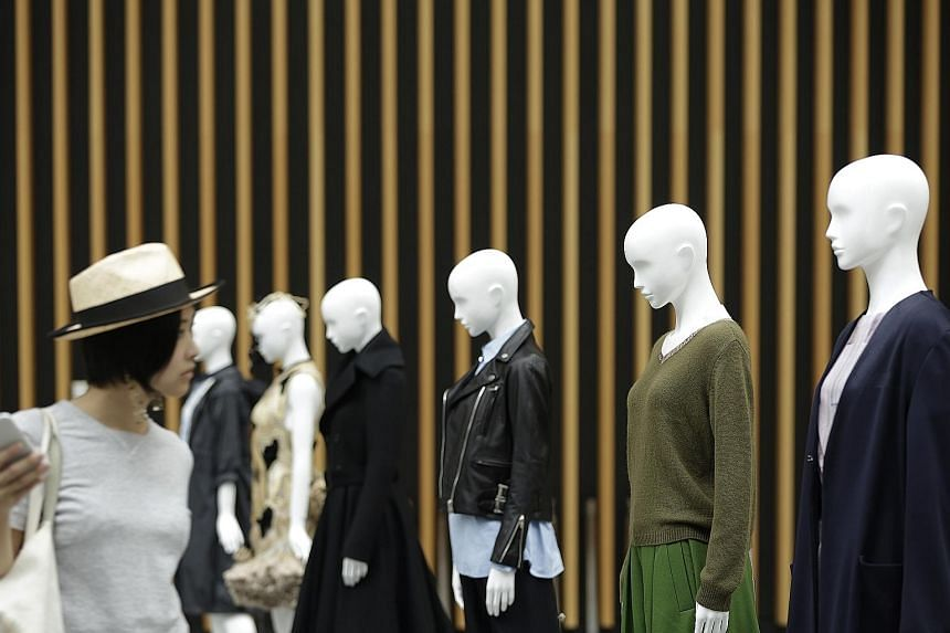 Facing the bald truth - private consumption fell 0.8 per cent from the first quarter, as consumers struggled to cope with last year's sales-tax hike and wages that have not kept pace with rising costs. Economy Minister Akira Amari says, however, that
