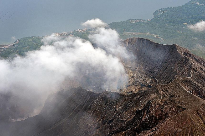 Sakurajima, one of Japan's most active volcanoes, erupts almost constantly. It is about 50km from the Sendai nuclear plant, which was restarted only this month.