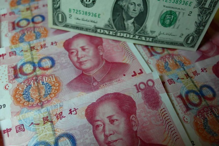 A Bloomberg survey showed that Yuan is seen weakening 1.6 per cent to 6.50 a US dollar in the remainder of 2015.