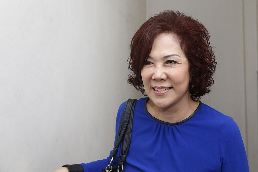 Singapore People's Party chairman Lina Chiam.