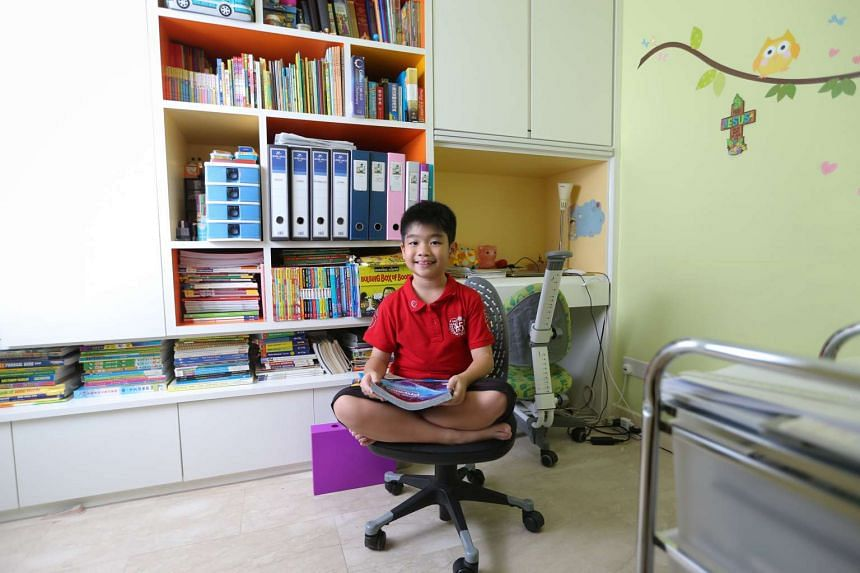 Mark Sim, now nine, was eight years and three months old when he took the IGCSE physics examination in November 2014, scoring an A.