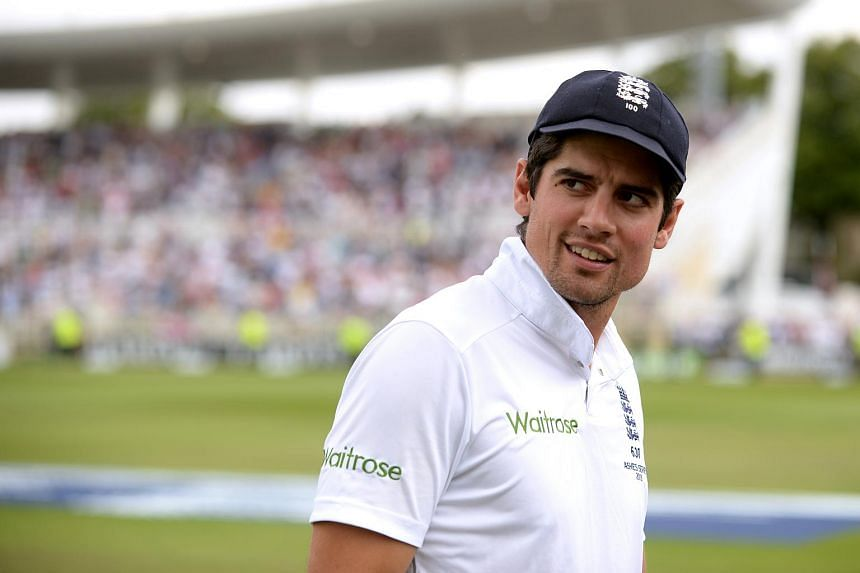 England's Alastair Cook after the fourth Ashes Test match.