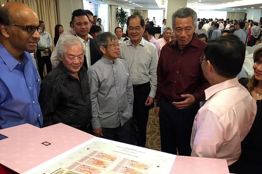 A set of six currency notes with designs depicting significant milestones and achievements in Singapore's history was launched on Tuesday by Prime Minister Lee Hsien Loong.