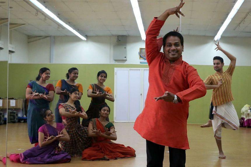 Apsaras Arts Company's managing and creative director Aravinth Kumarasamy (above).