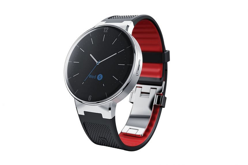 The Alcatel OneTouch Watch has an elegant appearance.