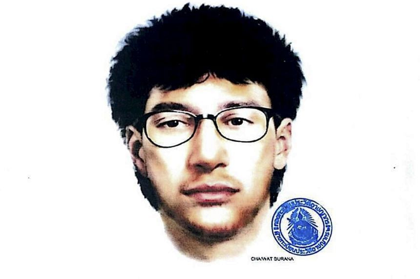 The man that is believed to have planted a bomb in Bangkok that killed 20 people.
