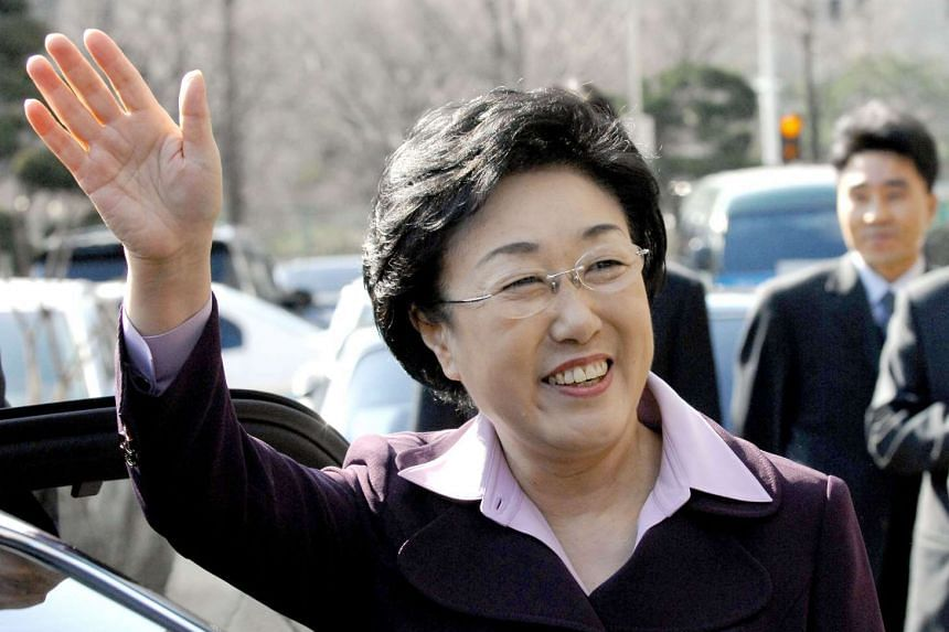 Han was allowed to remain free pending her appeal, but Thursday's Supreme Court ruling means she will now go to prison.