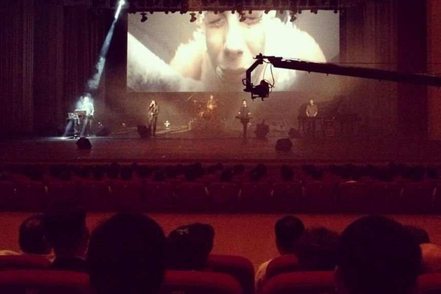 Slovenian avant-garde music group Laibach performing in North Korea.