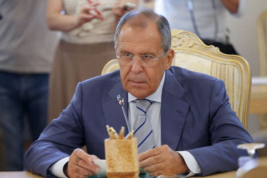 Russian foreign minister Sergei Lavrov (above) confirmed that Putin is planning to attend next month's UN meeting.