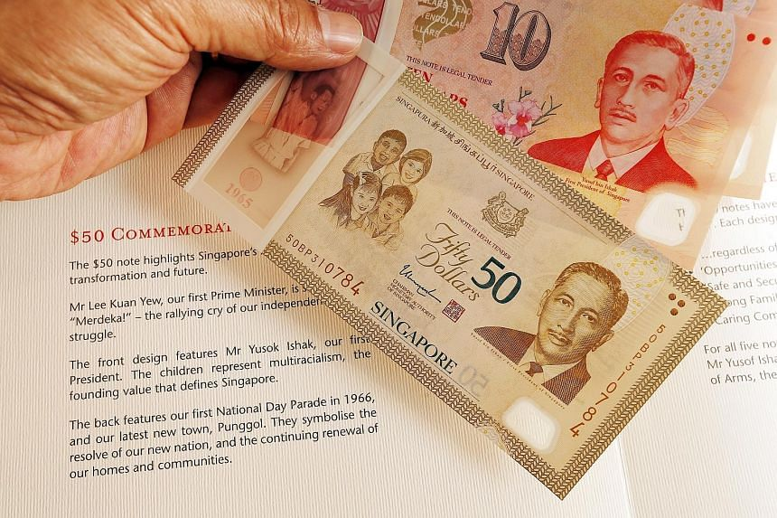 """The late President Yusof Ishak's name is spelt as """"Yusok"""" on the cover fold and booklet."""