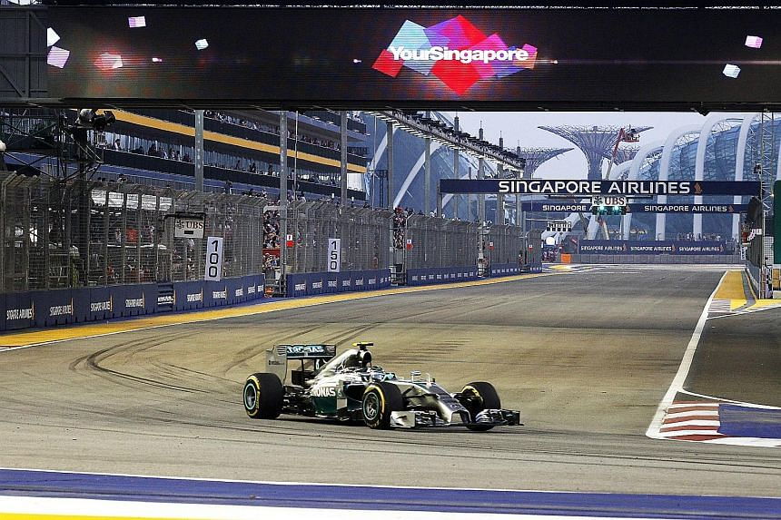Singapore Airlines took over from Singtel as title sponsor of the Singapore Grand Prix last year, during which some 84,450 tickets were sold.