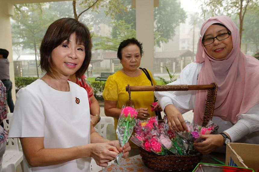 Dr Amy Khor (left) will seek a fourth term as MP of her Hong Kah ward.