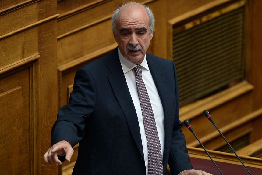 Greece's main opposition party leader Vangelis Meimarakis (above) will meet the country's president Prokopis Pavlopoulos on Friday morning to receive a mandate to form a new government.