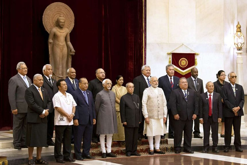 Leaders of Asia-Pacific island nations are in India to participate in the Forum for India-Pacific Island Countries (FIPIC) Summit scheduled to be held on Aug, 21, 2015 in Jaipur.