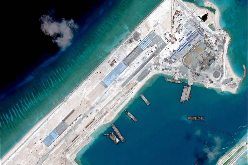Since China's land reclamation efforts began in December 2013, it had reclaimed more than 1,170ha of land as of June 2015.