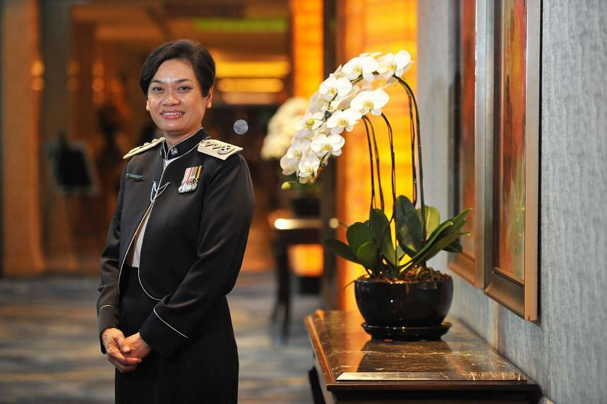 The Her World Woman of the Year, Senior Assistant Commissioner of Police Zuraidah Abdullah, 53.