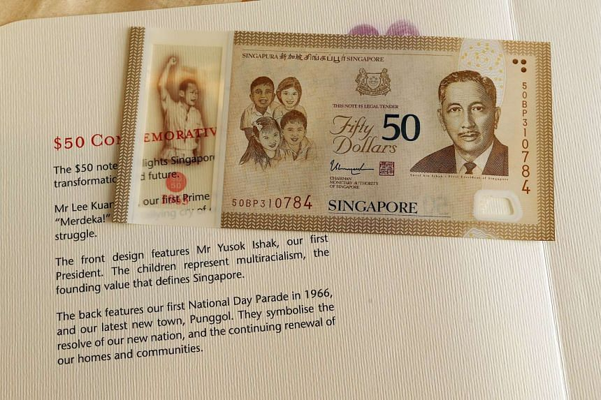 Singaporeans who wish to exchange the folders for the new ones will be able to do so.