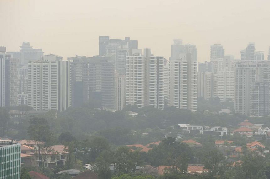 The 24-hour Pollutant Standards Index is expected to be in the moderate range of 51 to 100 on Saturday.