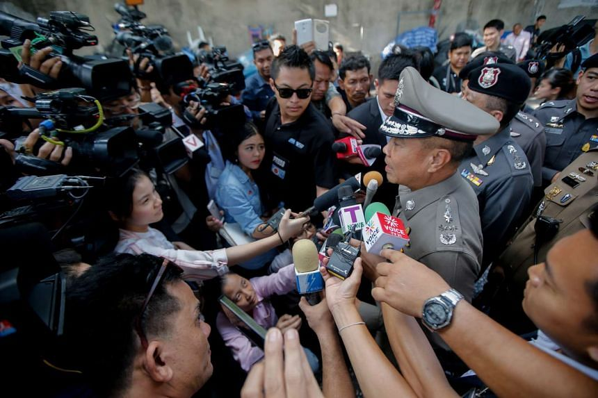 """Thailand's police chief Somyot Poompanmoung insisted his officers are making """"a lot of progress"""" in the hunt for the Bangkok shrine bomber."""