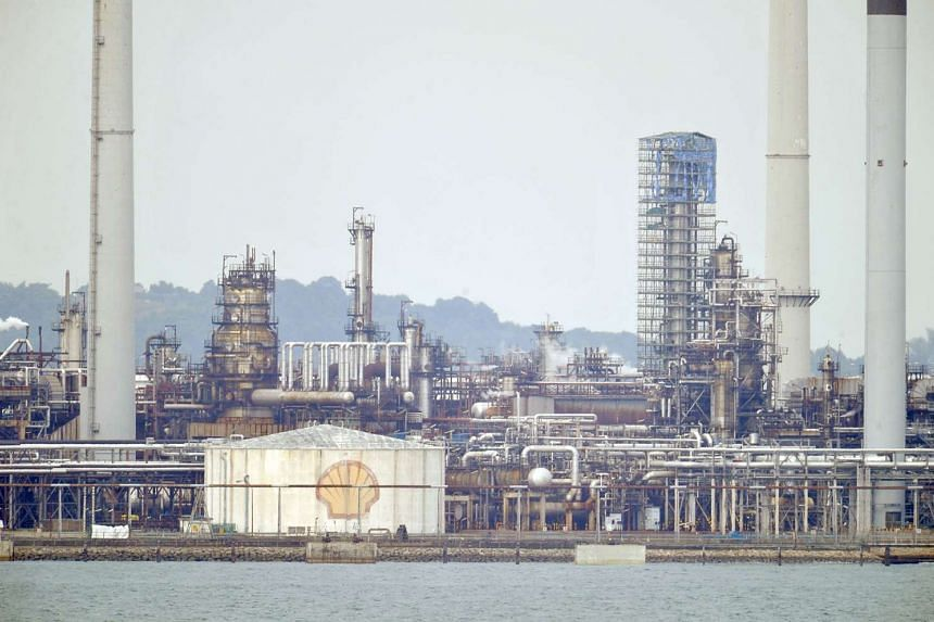 Shell's manufacturing site on Pulau Bukom.
