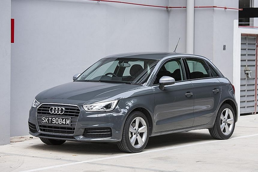 The A1 Sportback 1.0 has no problem keeping up with expressway traffic between 80 and 90kmh.