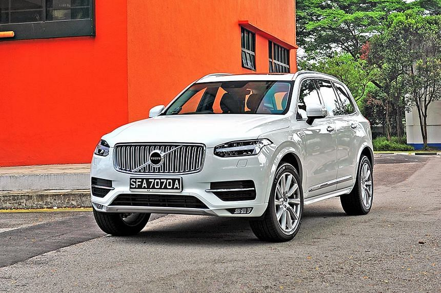 Despite its heft, the Volvo XC90 surprises with its ability to plug holes in traffic.