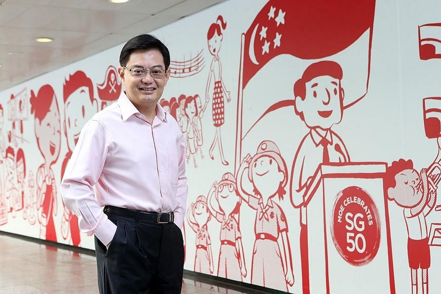 "Education Minister Heng Swee Keat stressed that there should be no let-up in the pursuit of excellence - it should be ""part of Singapore's DNA"", but he added that there is a need to broaden the definition of excellence and to recognise everyone for a"