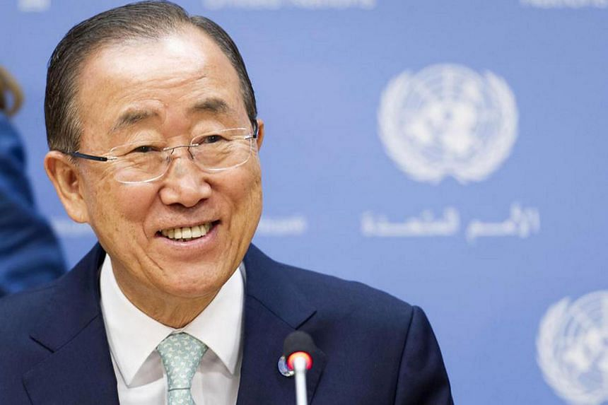 """Ban Ki Moon congratulated Sri Lanka Prime Minister Ranil Wickremesinghe and commended his message of """"good governance and national unity""""."""