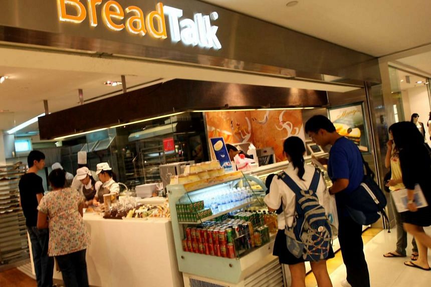 A BreadTalk outlet in Singapore.