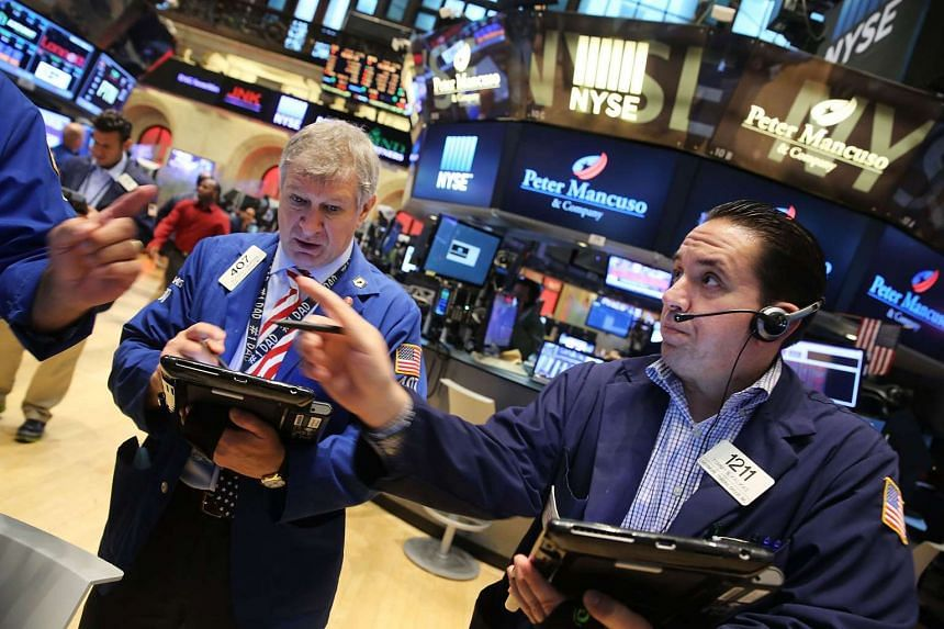The Dow fell over 150 points in morning trading as global markets continued to react to economic events in China.