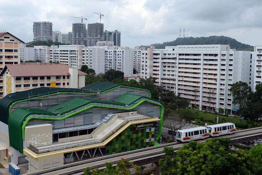 The new Bukit Panjang Hawker Centre and Market.