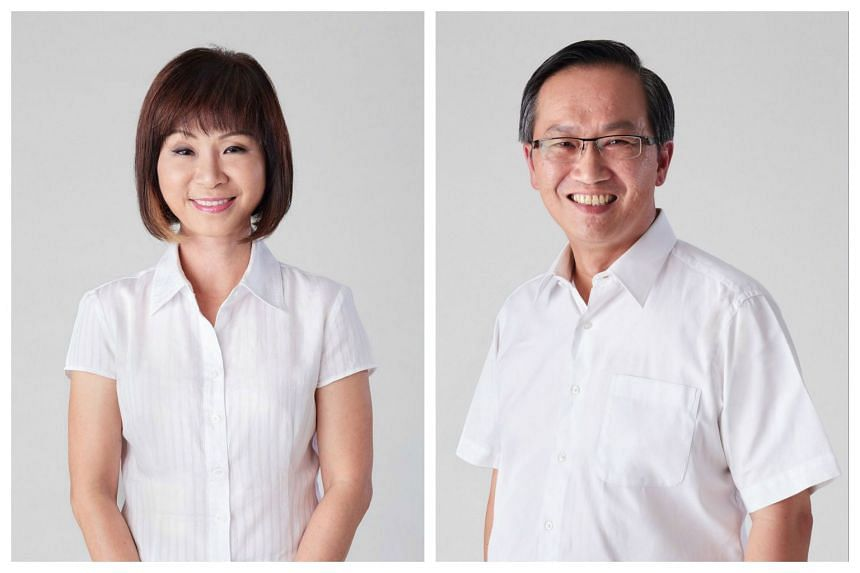 Dr Amy Khor (left) and Mr Lim Biow Chuan will stay put to defend their respective constituencies at the general election.